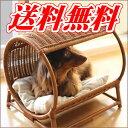 ペット用ベッド ラタン トンネルベッド☆体重7kgまでの超小型犬〜小型犬、猫ちゃんに!夏を涼しくクールなラタン ベッ…