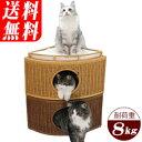 ラタンチーズハウス クッション付 ブラウン/キャラメル(北海道・沖縄・離島は送料別途)体重8kgまでの猫ちゃんに!ラ…