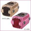 リッチェル キャンピングキャリー ダブルドア M☆外ではキャリー、家ではハウス!小型犬・猫用キャリー
