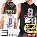 【120枚限定】 GX3/ジーバイスリー WEAR SUPER DUPER ノースリーブ