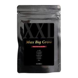 男性サプリメント α-GPC配合 マックス・ビッグ・グロウ 60粒入り 日本製