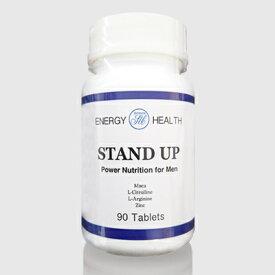 男性サプリメント STAND UP(マカ・亜鉛・シトルリン) 単品 90粒入り 日本製