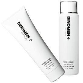 洗顔 化粧水 メンズ DiNOMEN フレッシュ スキンケア セット 男性化粧品 洗顔 化粧水 メンズコスメ エイジングケア ベタつき、カサつき肌予防 送料無料【あす楽対応】