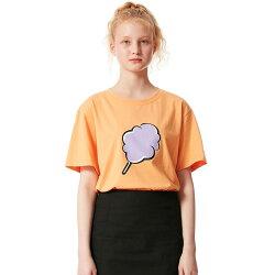 CLLOTTY【クロッティー】BIGCCTシャツ/全2色【あす楽対応】【韓国韓国ブランド韓国ファッショントップスTシャツロゴレディースミントオレンジ】