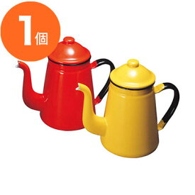 【コーヒーポット】 キリン印 コーヒーポット ホーロー #13 キャメル 1.6L 1個