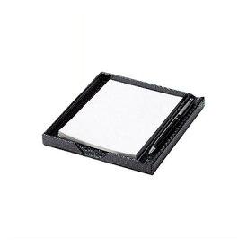 【レザータッチブラック メモトレイ】メモトレイ MT-6 卓上用品 業務用 ホテル用品 旅館用品 ro