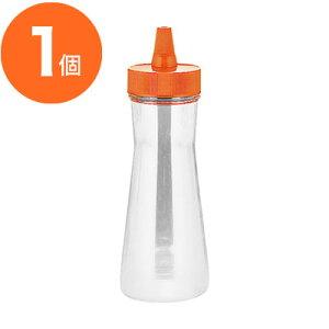【ドレッシング容器】 ドレッシングボトル ネジキャップ式 FTP−250 オレンジ 1個