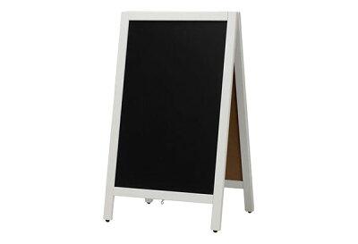 【A型スタンドチョーク用白枠】ABS-76WC/黒板/業務用/黒板ブラックボード/POP用品/sh【個人宅配送不可】