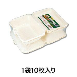 【トレー・舟皿】バガスフードパック FP−19 10枚入