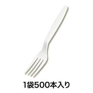【使い捨てフォーク】98大フォーク 白 バラ 500本入