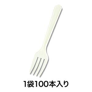 【使い捨てフォーク】商い用フォーク SF−100G 5連 100本入