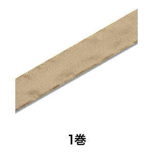 【リボン】ソフトメタルリボン 36×10 ゴールド