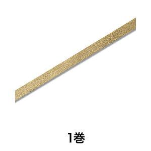 【リボン】エレガンスメタルリボン 12×20 ゴールド
