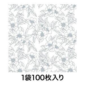 【包装紙】包装紙 全判 ブルーベリー 100枚入