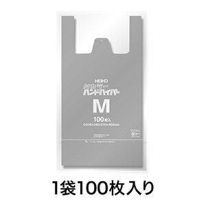 【カラーレジ袋】Nカラーハンドハイパー M シルバー