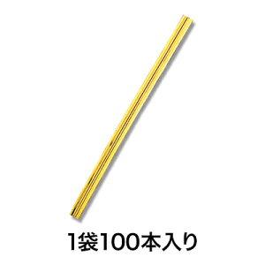 【カラータイ】カラータイ 4×100 金 100本入