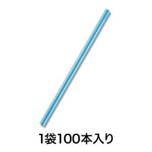 【カラータイ】カラータイ 4×100 ブルーメタリック100本入