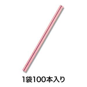 【カラータイ】カラータイ 4×80 桃金 100本入