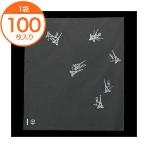 【菓子パン袋】 8927 パリス柄OP袋 100枚