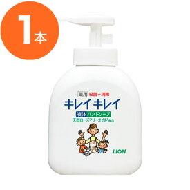 【ハンドソープ】キレイキレイ 薬用ハンドソープ 250m ライオン LION 手洗い洗剤 手洗い・消毒 プロ御用達 店舗用品 l6