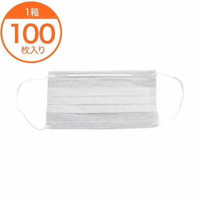【作業用マスク】2PLYマスク(耳かけ)EJ2−2020 /100枚入り/マスク 業務用/マスク 使い捨て/病院/工場/洗剤類・衛生用品/プロ御用達/店舗用品/l6