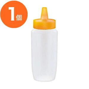 【ドレッシング容器】 ドレッシングボトル ネジキャップ式 HPP−360 オレンジ 1個