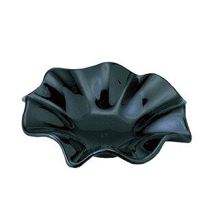 フラワー灰皿 黒 小