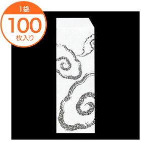 【ドッグスリーブ】 8237 スリーブ耐油紙 #311 和柄 100枚