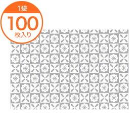 【包装紙】 包装紙 DX 103 ギンレイ 100枚