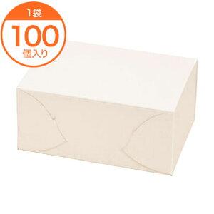 【ケーキBOX】 KSサービス箱 #6 100個