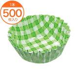 【紙ケース】紙ケースカラー6Fチェック緑