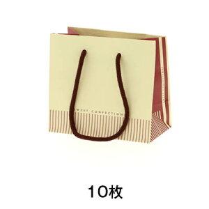 【手提げ紙袋】手提げ紙袋 ギフトバッグ S コンフェクション クリーム