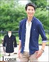 【送料無料】七分袖シャツ シャツ メンズ 七分袖 カジュアルシャツ カジュアル 無地 春 夏 春服