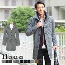 チェスターコート メンズ ロングコート コート アウター イタリアンカラー ジャケット ウール メンズファッション ウール混 暖かい 秋 冬 春