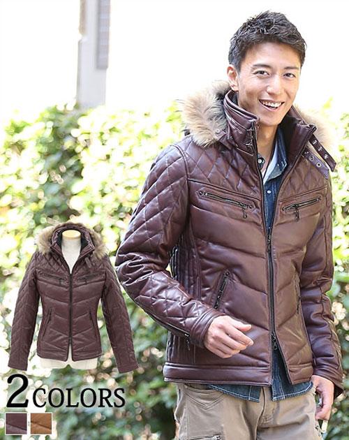 送料無料 ダウン メンズ ダウンジャケット ダウンコート 中綿ジャケット キルティング アウター メンズスタイル