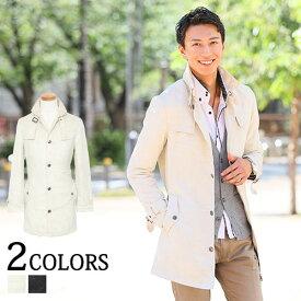 送料無料 トレンチコート メンズ トレンチ コート アウター ロングコート メンズファッション