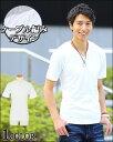 【送料無料】カットソー メンズ tシャツ 半袖 Vネック ケーブル編み カジュアルシャツ メンズファッション