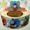 《きかんしゃトーマス》キャラデコ お祝い ケーキ イチゴ 5号【 キャラデコケーキ バンダイ きかんしゃトーマス キャ…