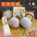 柿¨大将(6個入)干柿の和菓子