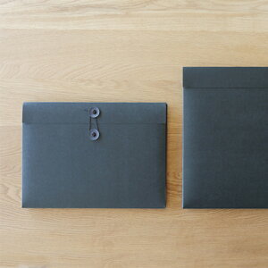 ドキュメントケース A4 SML エスエムエル ブラック 12個セット 【 ファイルケース 図面 資料ケース プレゼン資料 作品 収納 】