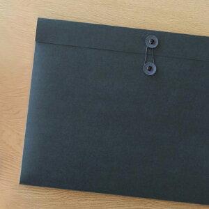 ドキュメントケース A3 SML エスエムエル ブラック 5個セット 【 ファイルケース 黒 図面 資料ケース プレゼン資料 作品 収納 】
