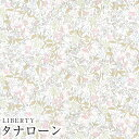 LIBERTYリバティプリント・国産タナローン生地(エターナル)<Coward>(カワード)【ピンク】3638277DE