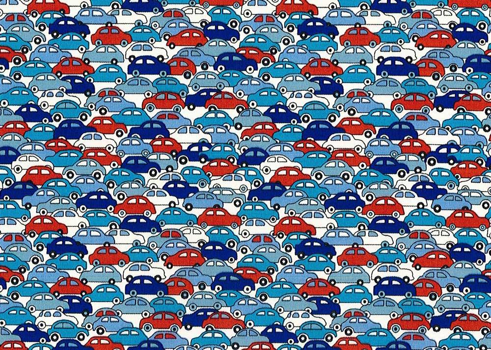 LIBERTYリバティプリント・国産タナローン生地<Cars>(カーズ)09-3639172-J17A