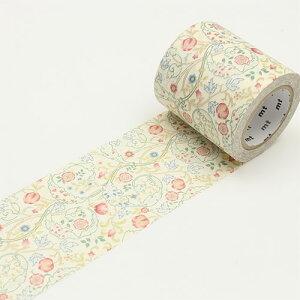 マスキングテープ(50mm×10m) 幅広 mt ウィリアム・モリス William Morris(Mary Isobel)【MTWILL06】カモ井加工紙 マステ
