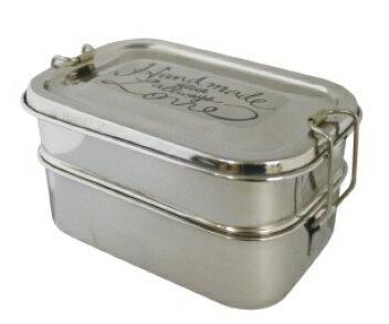 ミア ステンレス ランチボックス レク Mia ST Rec LunchBox 2tier 弁当箱 2段式