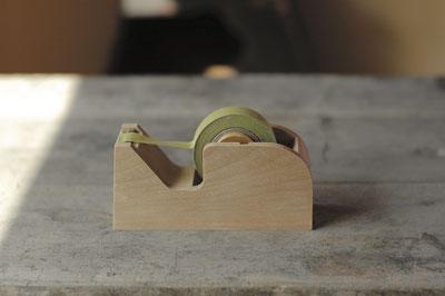 【倉敷意匠計画室】 木製テープカッター 全2色 セロハンテープ台 |テープカッター 【あす楽対応】