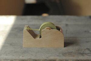 【倉敷意匠計画室】 木製テープカッター 全2色 セロハンテープ台 テープカッター 【あす楽対応】
