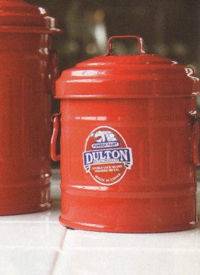 【DOULTON】ダルトン Micro garbage can マイクロ缶 フタ付き小物入れ