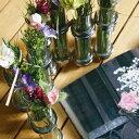 ダルトン リンクチューブベース シルバー DOULTON フラワーベース/木/花/フラワー/フラワーグラス/花瓶 ガラス/ガラスベース/シンプル/おしゃれ 置物...