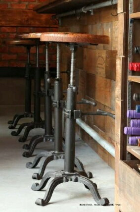 【DOULTON】ダルトン アンティーク風 バー スツール BAR STOOL 木製 ウッド アンティーク風 スツール 椅子 イス いす【送料無料】